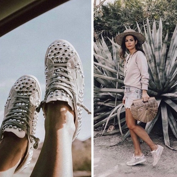 Golden Goose Studded Sneakers 39